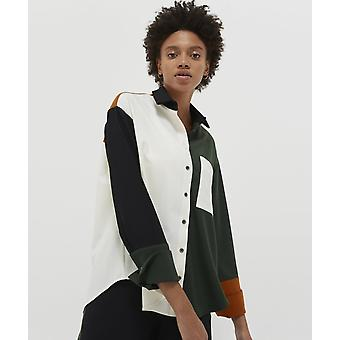 Chinti and Parker Oversized Colour Block Shirt