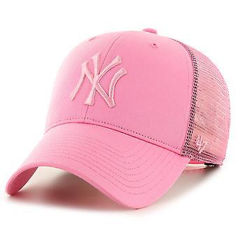 47 العلامة التجارية سناب باك كاب -- برانسون نيويورك يانكيز الوردي