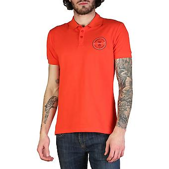 Versace jeans men's polo shirt - red
