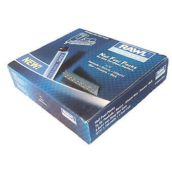 Rawlplug 2.8x51mm ring silver galv nails 1100+ 1 fuel cell