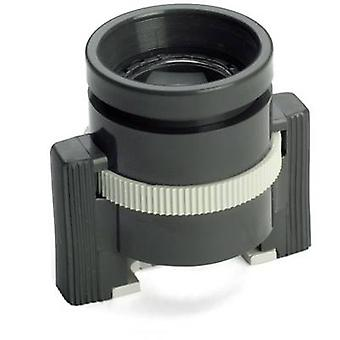 Stand magnifierMagnification: 10 xLens size: (Ø) 18 mmBlackIdeal Tek 802-01With mm scale
