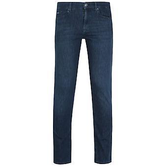 BOSS Delaware Slim Fit Soft Handle Dark Blue Denim Jeans