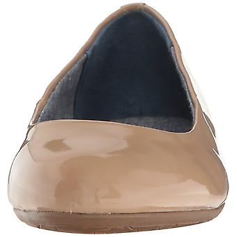 Dr. Scholl's Womens Giorgie Leather Closed Toe Ballet Flats