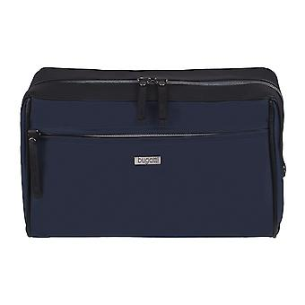 Bugatti washbag toalettartiklar väska kosmetiska väska blå 3833