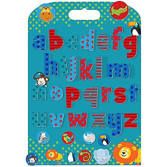 Fiesta Crafts Stickabouts Wild Animals Alphabet