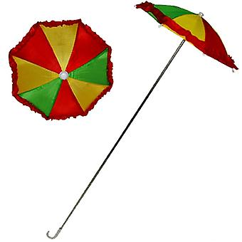 Clown Umbrella W/Ruffle