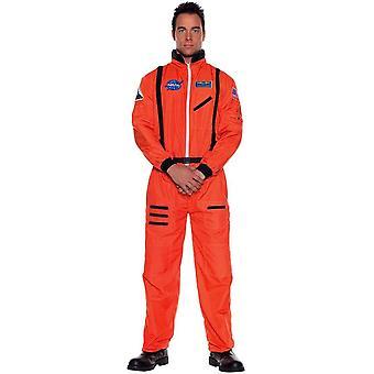 Orange Astonaut Teen Costume