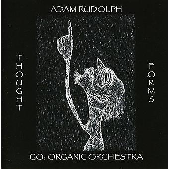 Adam Rudolph - Thought Forms-Go: Organic Orchestra [CD] USA import