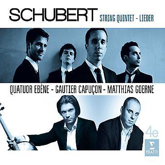 Schubert / Capucon, Gautier / Goerne, Matthias - Lieder Quintet [CD] USA import