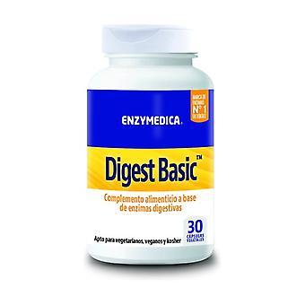 Digest Basic 30 vegetable capsules