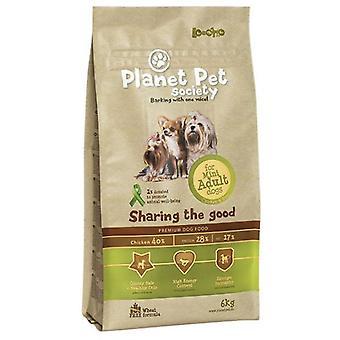 Planet Pet Pienso para Perros Adultos Mini de Pollo y Arroz (Dogs , Dog Food , Dry Food)