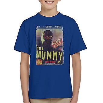 Hammer The Mummy 1959 Film Poster Kid's T-Shirt