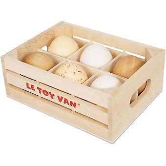 Le Toy Van Honeybake Farm Eggs