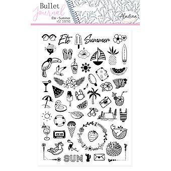 Aladine Bullet Journal Vaahto postimerkit kesällä