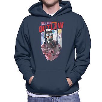 Marvel Guardians Of The Galaxy Vol 2 Legendary Outlaw Men's Hooded Sweatshirt