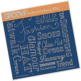 Groovi Fashion Phrases A5