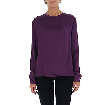 Tom Ford Ts1930fax727gv600 Women's Purple Cotton Sweater