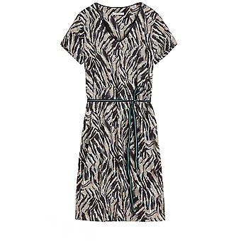 Sandwich Clothing Animal Print Jersey Dress