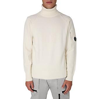 C.p. Compañía 09cmkn112a005504a103 Hombres's suéter de lana blanca