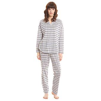 Rösch Smart Casual 1203529-16542 Women's Check Mix Pyjama Set