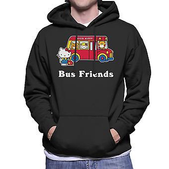 Hello Kitty Bus Friends Men's Hooded Sweatshirt