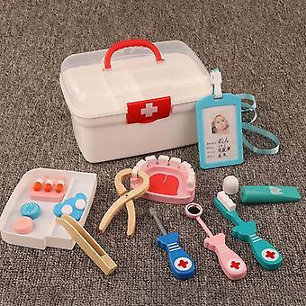Din lemn, Copii Real Life Cosplay-doctor Dentist, Medicina Box