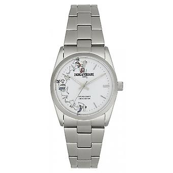 Orologio Zadig & Voltaire ZVF418 - acciaio quadrante bianco donna