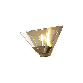 Luminosa Beleuchtung - Wandleuchte, 1 Licht E14, Antik Messing