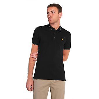 Lyle & Scott Marca Collar Polo Camisa Negro 96