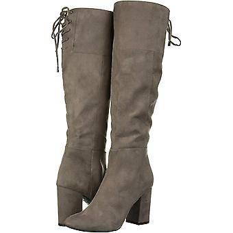 Kenneth Cole New York Women's Schoenen Corie Lace Fabric Closed Toe Knee High Fashion Boots