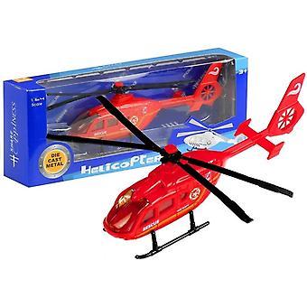 Speelgoed reddingsHelicopter Rescue Rescuer 3 kleuren