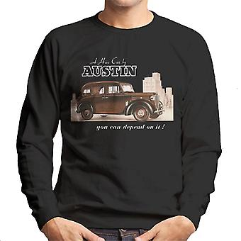 Austin You Can Depend On It British Motor Heritage Men's Sweatshirt