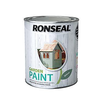 Ronseal Garden Paint Willow 750ml RSLGPW750