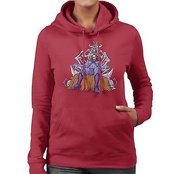 Masters Of The Universe Skeletor Troon van botten Women's Hooded Sweatshirt