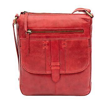 Primehide Womens Large Leather Handbag Crossbody Shoulder Day Bag 360 Ladies
