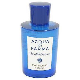 Blu Mediterraneo Mandorlo Di Sicilia by Acqua Di Parma Eau De Toilette Spray (المختبر) 5 أوقية (نساء) V728-533320
