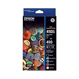 Epson 410Xl Black Std Colors Ink Value Pack