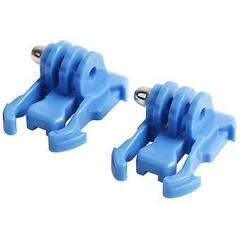 2 PCS TMC HR71 Pikalukittu surface solki GoPro HERO6 / 5 / 5 Istunto / 4 Istunto / 4 / 3 + / 3 / 2 / 1, Xiaoyi ja muut toimintakamerat (sininen)