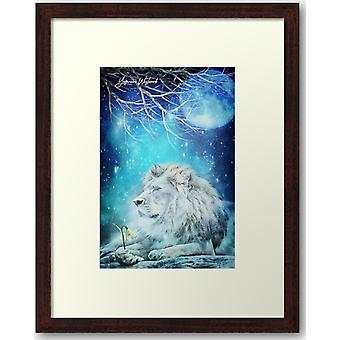 Silence Of The Lion Framed Print