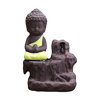 Backflow Buddha Incense Burner Holder