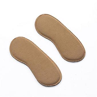 עקב אלסטי ליינר ספוג דביק, סיליקון מגן כרית כריות עבור נעליים