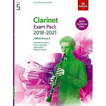 Clarinet Exam Pack 2018-2021, Abrsm Grade 5  Paperback