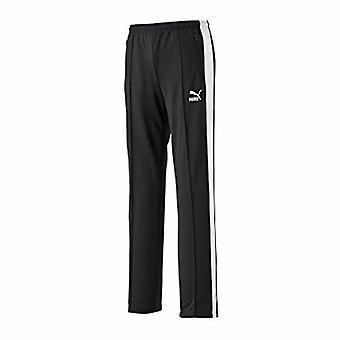 Puma T7 Slim Fit Womens Black Joggers Track Suit Bottoms Pants 563252 01 CC32