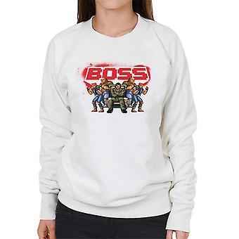 Sega Gatene I Raseri Sjefen Kvinner's Sweatshirt