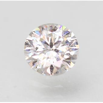 Gecertificeerde 0.60 Karaat D VS1 Ronde Brilliant Enhanced Natural Diamond 5.37mm 3EX