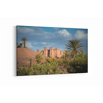 Gemälde - Die Kasbah - 100x70cm