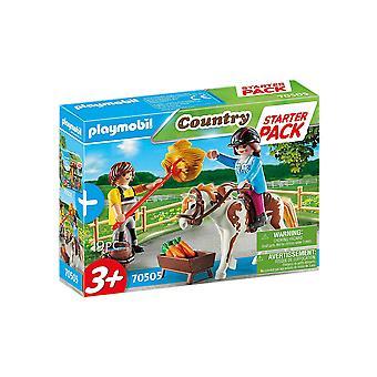 Playmobil 70505 Starter Pack Horseback Riding