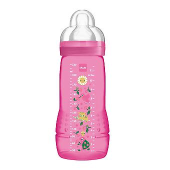 Mam bouteille active facile 330ml rose