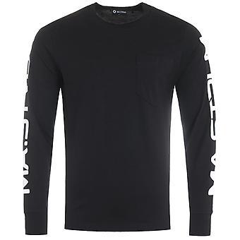 MA.Strum Pocket Long Sleeve T-Shirt - Black