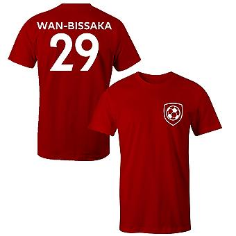 آرون وان بيساوكا 29 مانشستر يونايتد ستايل لاعب تي شيرت